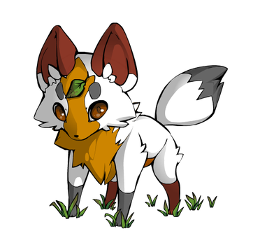 Patchleaf As A Fox by flamefoot15