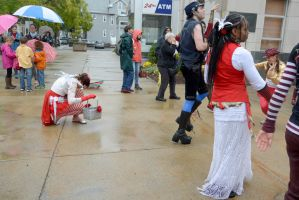 2014 Honk Festival, Noise and Praise On the Street by Miss-Tbones