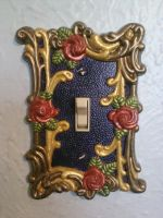 Painted Light Switch Cover by AshiviAlpha