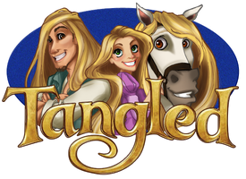 Tangled by OrangiCat2010