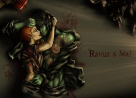 Ravus + Val   :Bgrd by ChocolateFrizz89