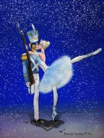 Tin Soldier and Ballerina by twisted-wind
