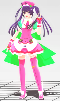 [MMD COMMISSION] VOCALOID Tone Rion [Finished] by OkpOkpX2