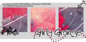 Girly Grunge Textures by Tarla