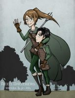 aSoIaF: Reed Brothers by Nymstark