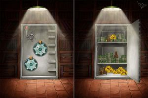 Vault background by maria-istrate
