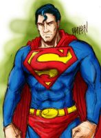 Superman Man of Steel by MFBroken