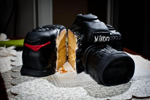 nikon d700 cake 2 by myPIPPO