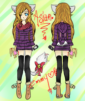 I'm a pretty cute Asain by EmmySama