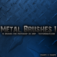 Metal Brushes 1: Metal Plating by AscendedArts