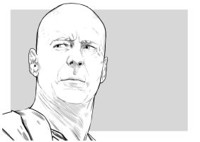 Bruce Willis by uger