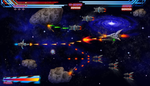 Mock up screen for Shmup by JeanRoux