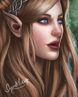 Elf by ceriselightning