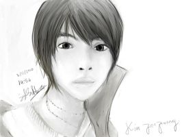 Kim Jaejoong by Syrviets
