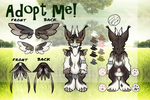 [CLOSED] ANGEL DRAGON AUCTION: Field predator by Octochels-Adopts