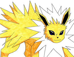 Jolteon by pamgomez
