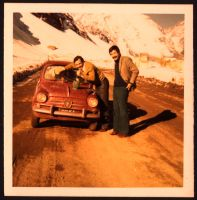 fiat 600 in the andes. by palnk