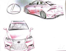 2014 Lexus IS 250 F Sport Concept No. 09 by nofxmike06