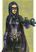 Daily Sketches Huntress by fedde