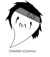 Christian Comma by XxTabbixX