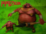 Skyward Sword Moblin by Paperlegend