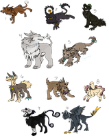Creature Paypal/Point Adoptables 6 - CLOSED by Railguns