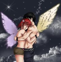 Eros and Psyche by lilith-lips