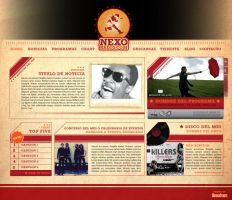 Nexo Radio - Web-Template by cabezadecondor