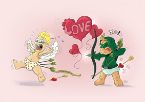 Cupidon, you have failed your duty! by RHOM13