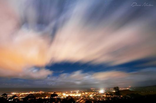 Coffs Harbour Nightscape by DrewHopper