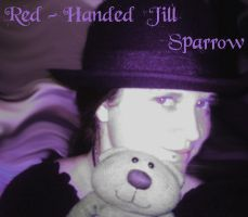 Red-Handed Jill Sparrow ID by kibiart