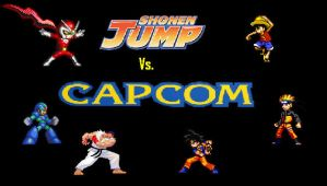 Shonen Jump vs Capcom by GenoFanX