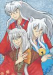 Tomoe, Kokkuri and Inuyasha by Iskeanime16