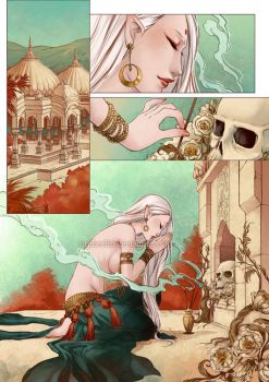 Eros and Thanatos comic by Orpheelin