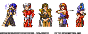 CFC - RO Fans Sprites No. 22 by trevmun