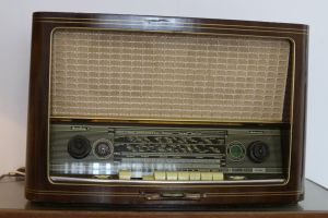 Old radio Stock 02 by Malleni-Stock