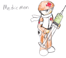 TDC Rough - Medicmon by IrateResearchers