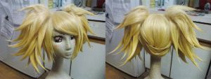 Meltdown Rin Wig Commission by red-cluster