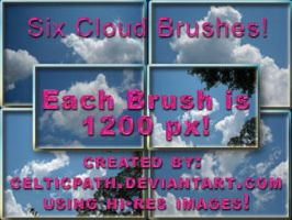 Cloud_Brushes_by_Celticpath by celticpath
