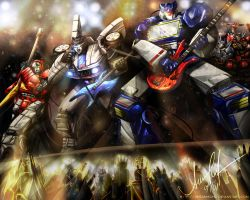 Transformers ROCK by Dream-Echo