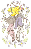 Minnie Mandy- two halves by VocaloidIchigo