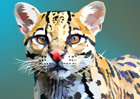 Ocelot by elviraNL