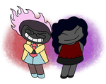Owen and Marzia - Pucca Style by kadeox