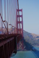 Golden Gate Bridge by cyric80