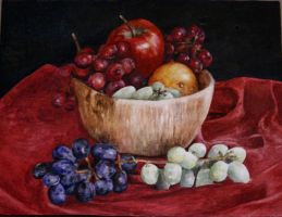 Fruits still life by peelonika