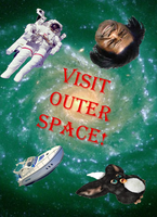 Visit Outer Space by Vladdyboy