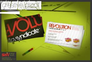 BizCards: Rev Media Syndicate by angelaacevedo