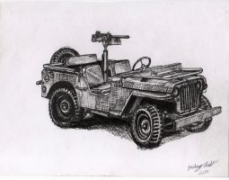 World War 2 Jeep by shank117