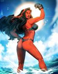 Red She-Hulk - Hit The Beach by GENZOMAN