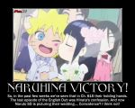 Naruhina Victory!-(Poster) by XPvtCabooseX